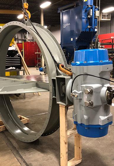 Manufacturing a Custom Damper Actuator