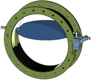 Kelair Backdraft Damper
