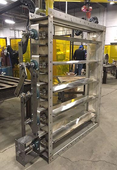 Louver Damper Manufacturing